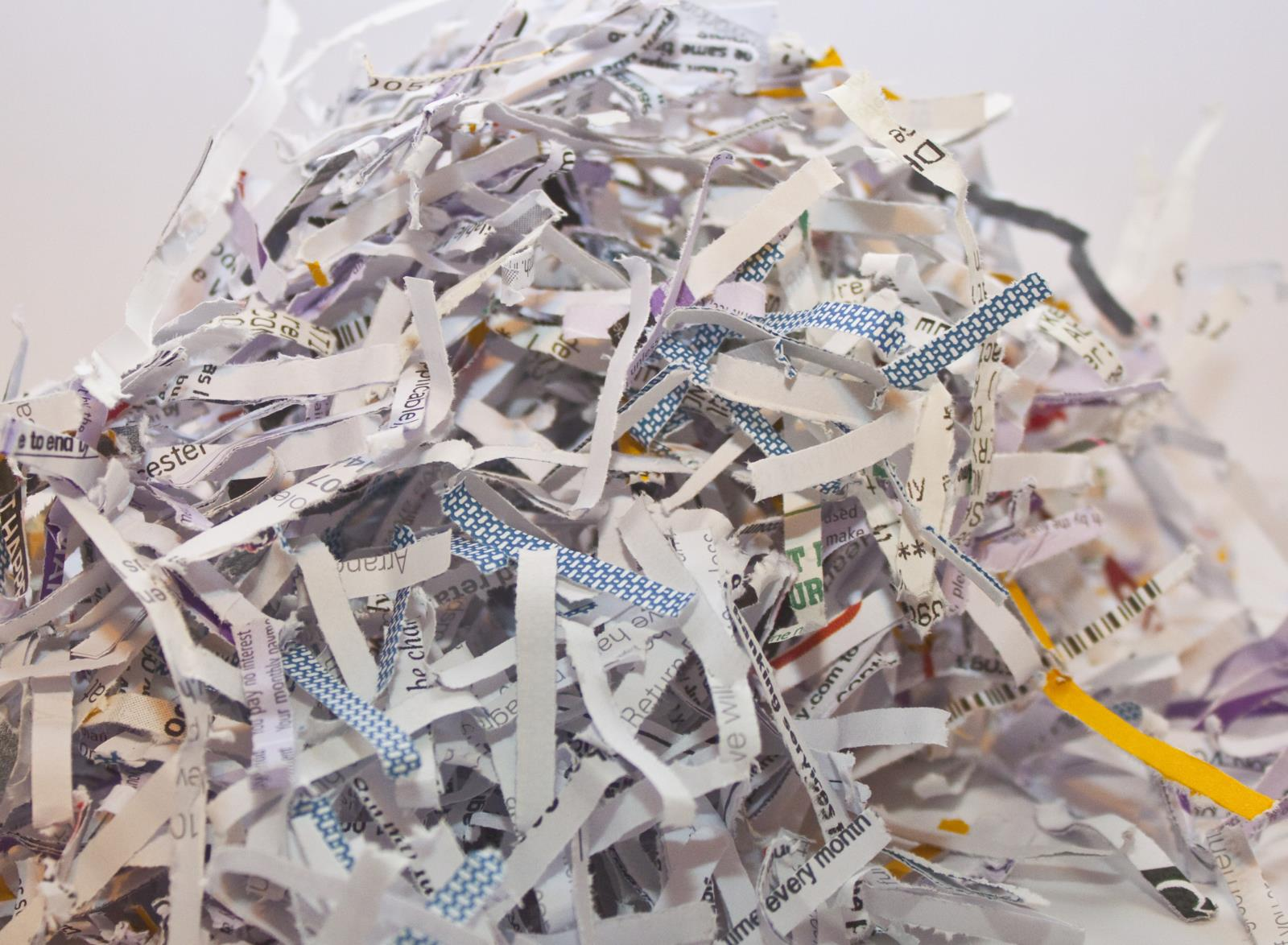 Document Shredding shutterstock_44367901