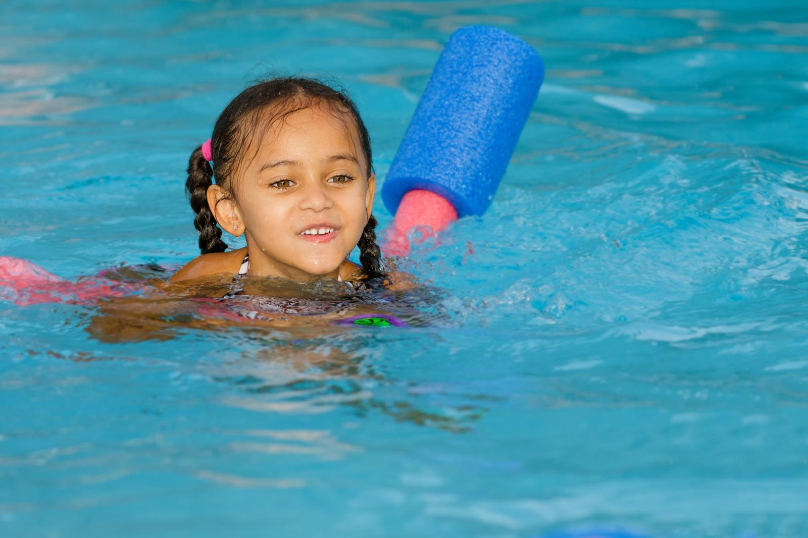 Water Safety - child in water